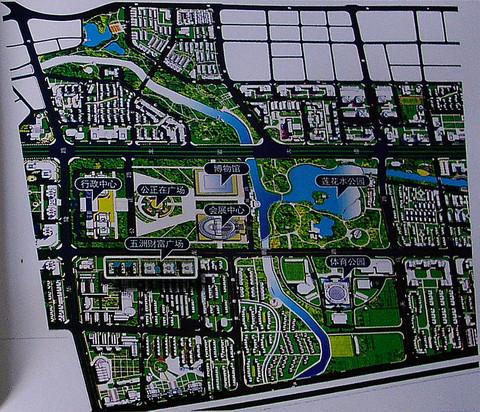 五洲财富广场 地理位置图